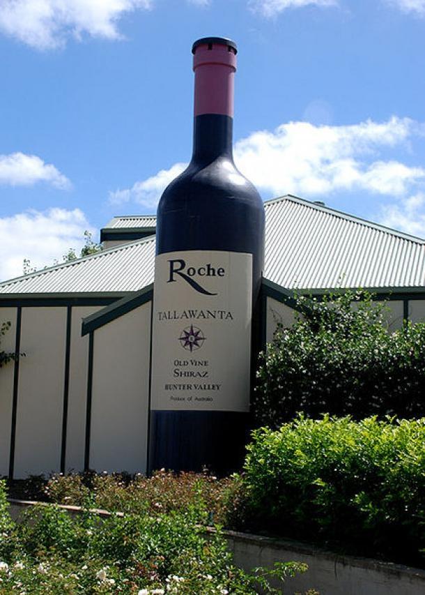 The Big Wine Bottle – Pokolbin NSW