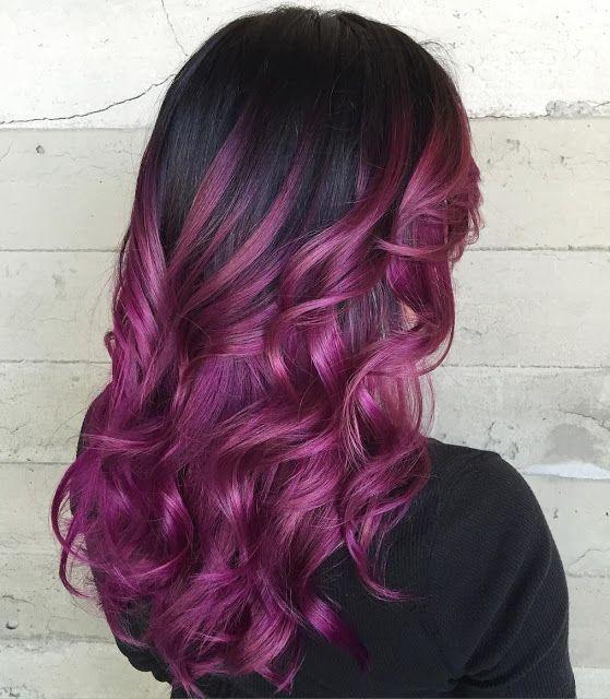 Unique Purple Ombres!