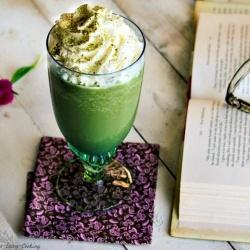 Green tea Frappuccino: Starbucks Green, Copycat Starbucks, Green Teas, Drinks Recipes, Matcha Frappuccino, Vanilla Ice Cream, Teas Frappuccino, Frappuccino Recipe, Copycat Recipes