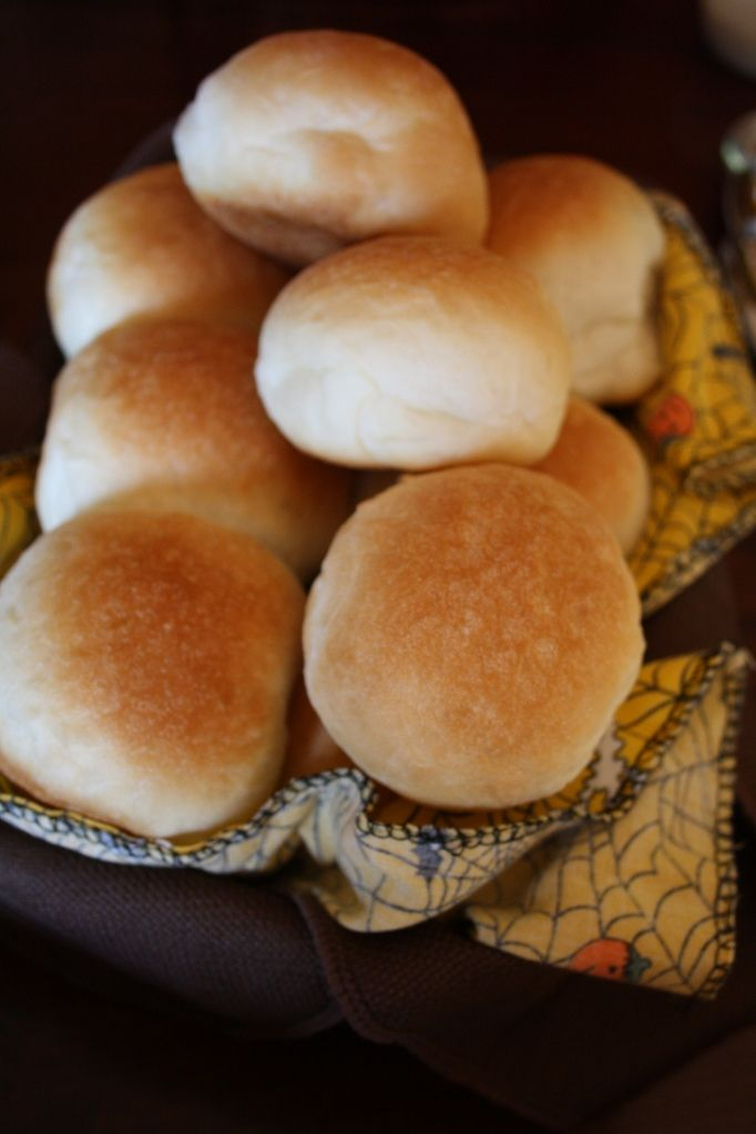 bread maker dinner rolls I didn't wrap them, and also didn't put butter on till ready to go in oven, I like big rolls, will not make as many next time so I can have bigger ones.