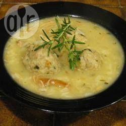 Фото рецепта: Куриный суп с куриными клёцками