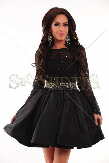 Sherri Hill 21215 Black Dress