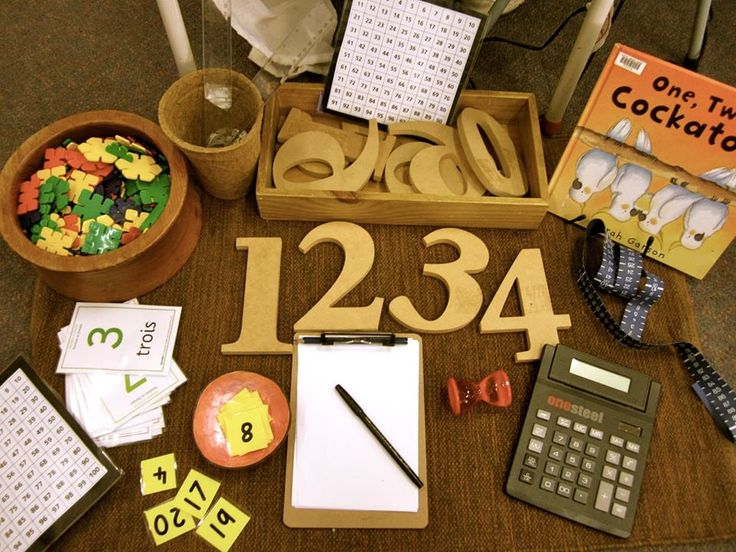 Numeracy provocation come and explore numbers and counting