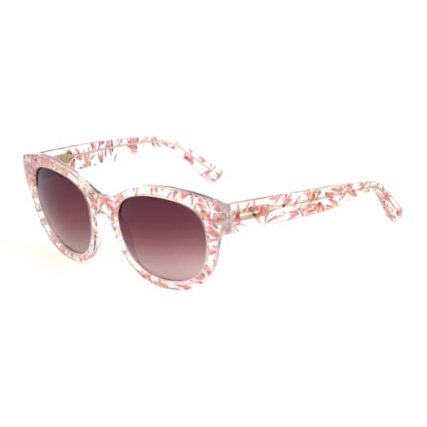 Floral Embedded Square Sunglasses   Heidi London   Wolf & Badger