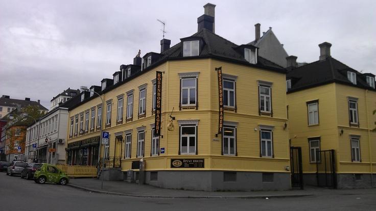 Rosenborg bakery. Open daily.