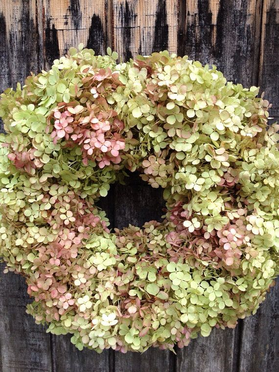 Best images about hydrangea wreath on pinterest silk