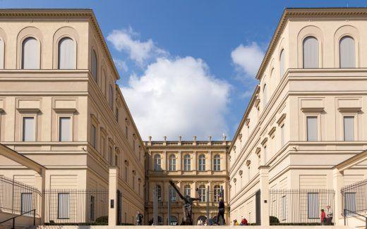 Palais Barberini Potsdam, Rückansicht