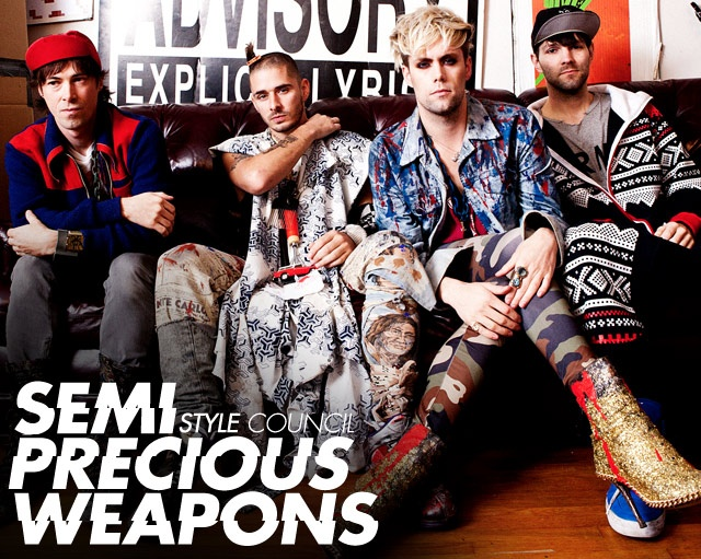 Is semi precious weapons gay