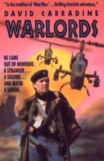 Warlords (1988) | http://www.getgrandmovies.top/movies/41994-warlords | In a brutal, radioactive future, fearless warrior Dow (David Carradine) is humanity's last hope against the Warlord and his mutant hordes. With the gorgeous, deadly Danny (Dawn Wildsmith) and the strange Ammo at his side, Dow makes desperate war on the fierce desert savages who threaten to overrun the world. Courage and resourcefulness on an heroic scale lead to a final, bitter triumph in this epic action lead to a…