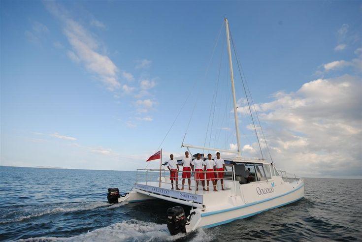 Get away on your getaway. (Oolooloo Snorkel Day Cruise shore excursion - Port Denarau, Fiji Islands) #Oolooloo