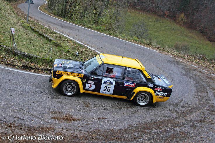 Fiat 131 Abarth Love it as a rally car.