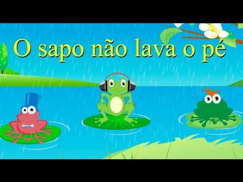 As melhores músicas infantis | 30 minutos | O Sapo não lava o pé