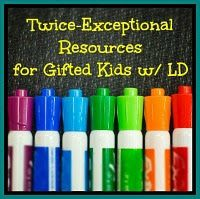 LD + Gifted = Twice Exceptional: What Should We Do?  Twice-exceptional children are intellectually gifted children challenged with special needs (such as ADHD, LD, autism, etc.) These children have a difficult time in our education system because their giftedness can actually mask their special needs.