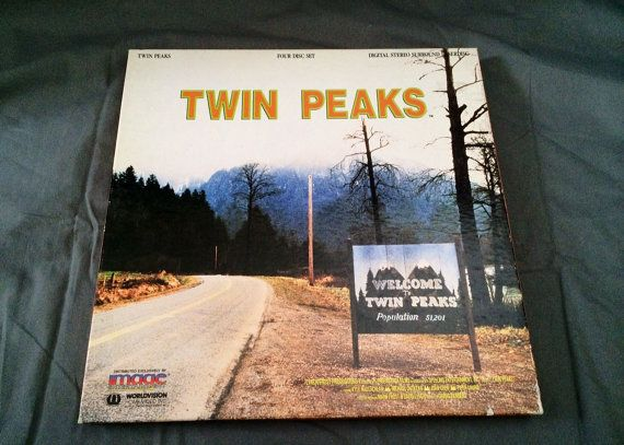 TWIN PEAKS: Season 1 Volume 1 Laserdisc 4-Episode by LegacyMedia