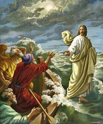 John 6: Christ Walking on the Water