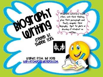 Biography Writing Program