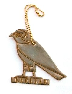 Egypten inspirerade reflexer. Kommer i lyxiga förpackningar med guldfolie. Fin accessoar på väskan eller jackan som även fyller en livsviktig funktion. | Popomax.com