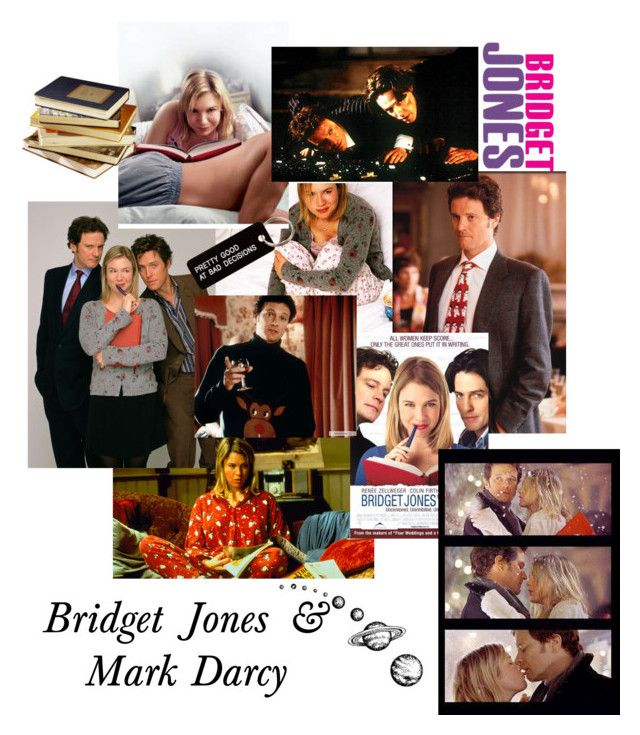 """Bridget & Mark (Bridget Jones's Diary)"" by cnb37 ❤ liked on Polyvore featuring art, colinfirth, bridgetjones and ReneeZellweger"