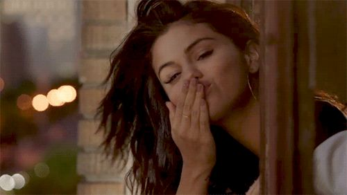 A princess blowing kisses to me.12 Things You Need To Know About Selena Gomez's Revival Album