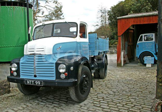 )Leyland Comet Truck & 1934 Erf model .