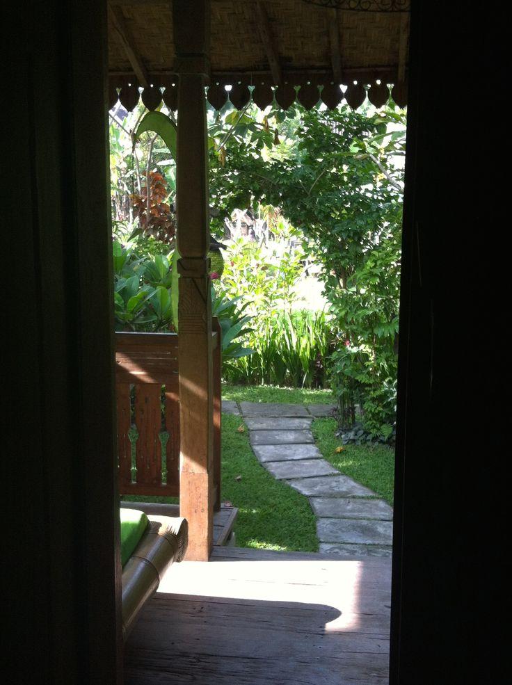 View from my bedroom door