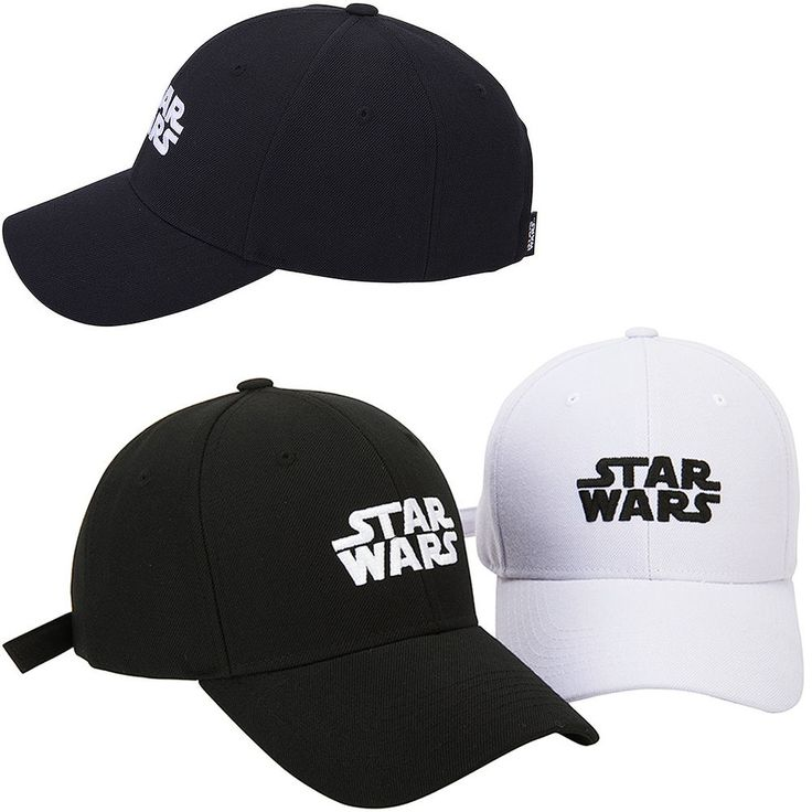 New Mens Womens STAR WARS Logo Original Trucker Baseball Strapback Hats Ball Cap #hellobincom #BaseballStrapbackCapHats