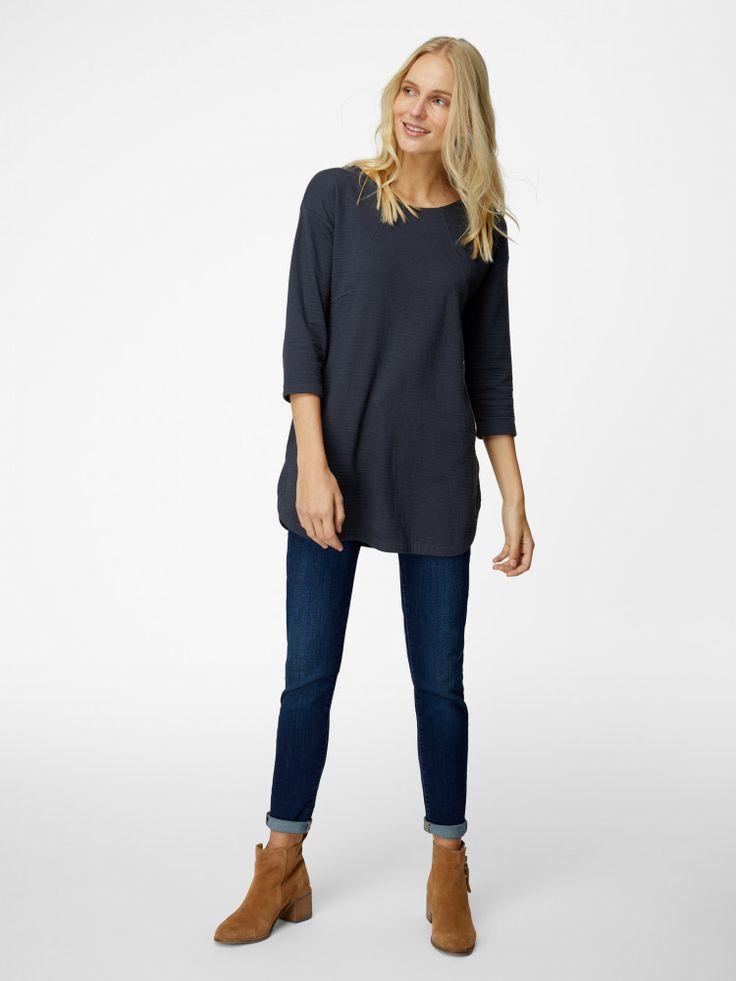 Farrah Texture Jersey Tunic