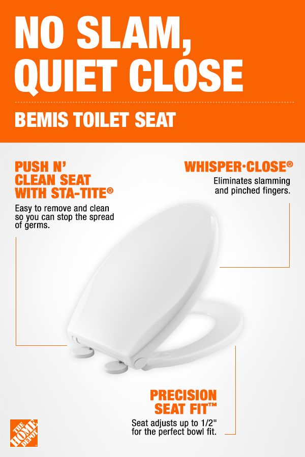 A Great Option For Parents This Bemis Toilet Seat Will Make Everyday Life A Little Easier With Whisper Diy Home Repair Cool Shower Curtains Bemis Toilet Seat