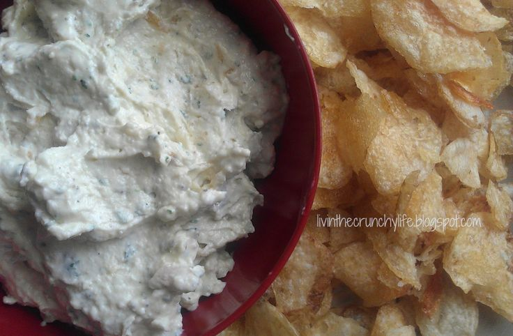 Homemade French Onion Dip (dairy free option)
