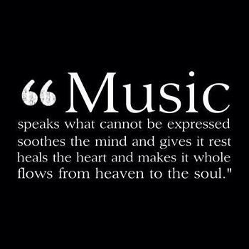 Music is important to the lives of many people. Students can use music to express thoughts and feelings that they cannot put to paper.  Music can be used as a form of literature for a project in school or simply a students personal life.
