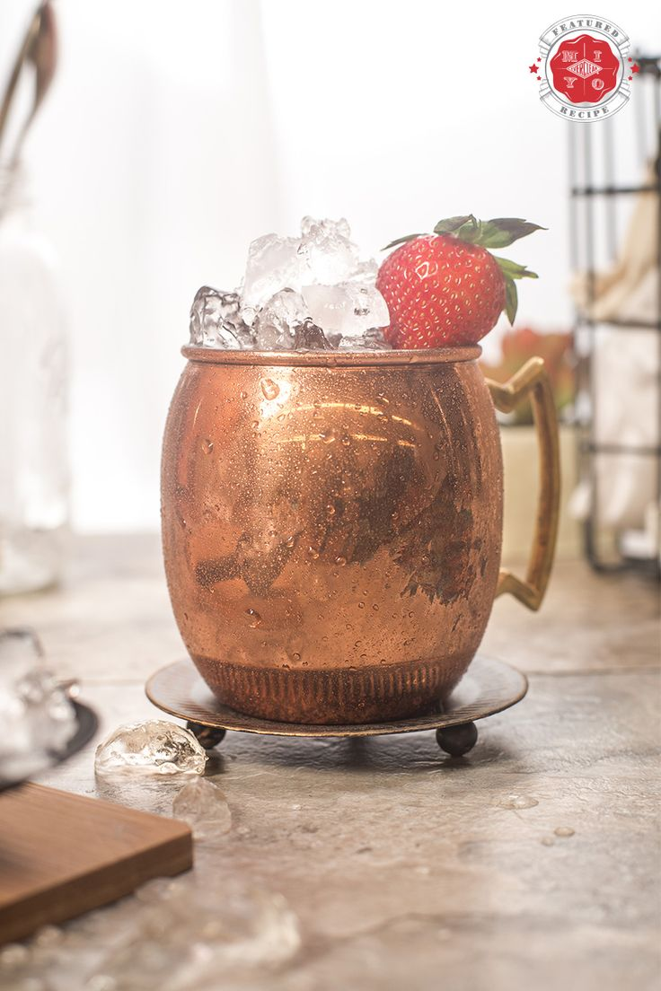 This recipe takes the fan-favorite Moscow Mule and gives it a facelift with the help of your homemade Strawberry Ginger Vodka.