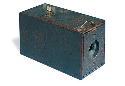 The first Kodak camera, 1888. -- High quality art prints, canvases, postcards, mugs -- SSPL Prints