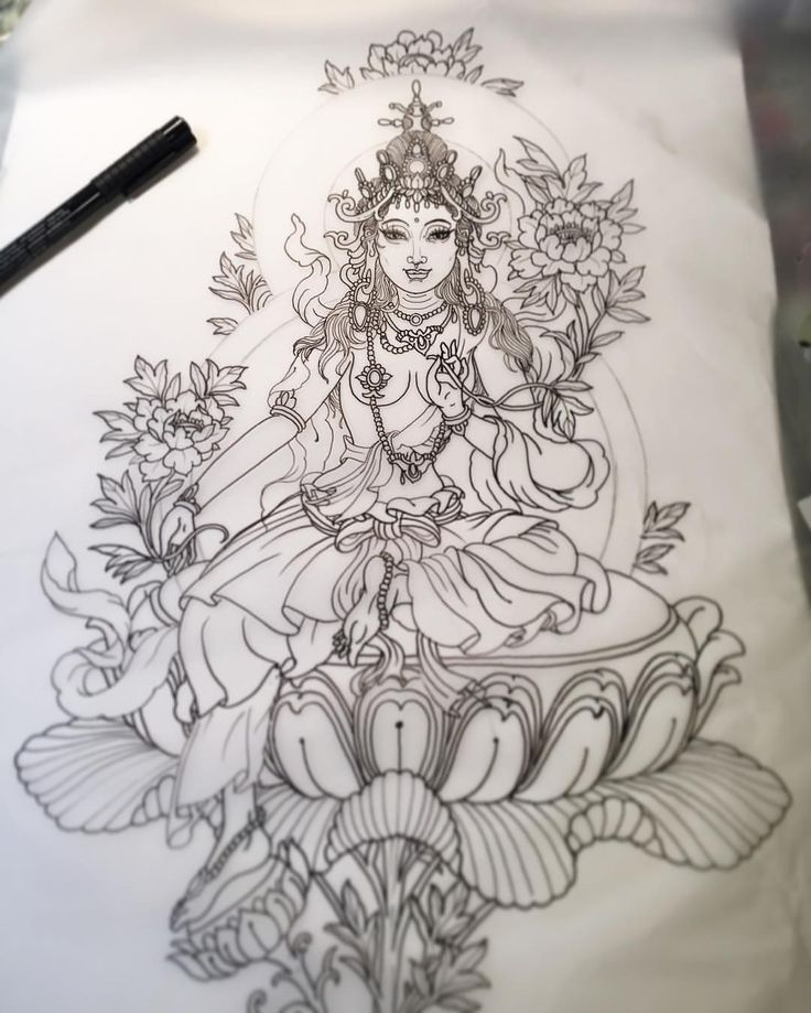Neck Girl S Tara Mantra Tattoos: Best 25+ Green Tara Ideas On Pinterest