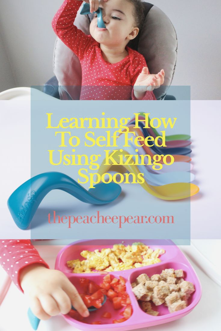 New blog post! Today I talk about our experience in learning how to self-feed and how Kizingo Spoons made this journey easier for us. Plus an awesome giveaway! via @ThePeacheePear