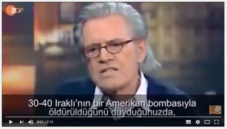 """BATI DÜNYASI DOSYASI /// VİDEO : Jürgen Todenhöfer – """"Acımasız, Zorba Olan Biz Batılılarız"""""""