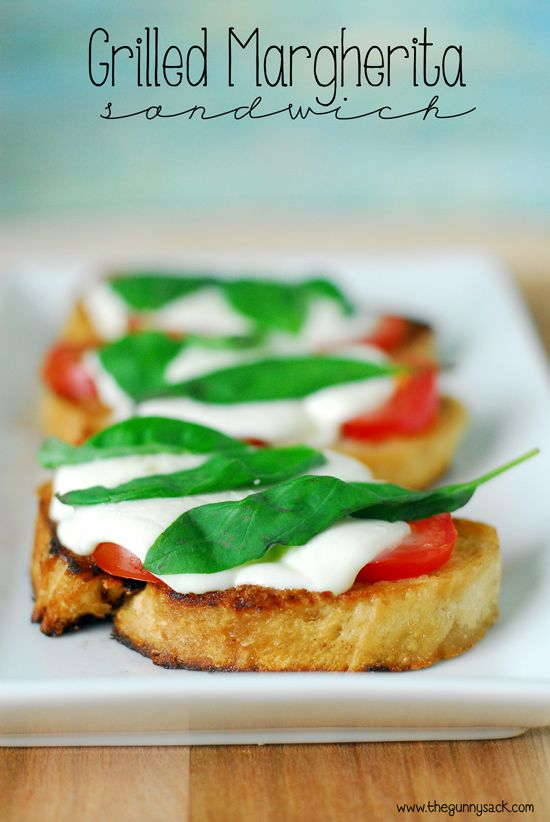 Grilled Margherita Sandwiches are fantastic with fresh tomatoes! Try making them over a campfire in a cast iron skillet. #WalmartProduce #ad