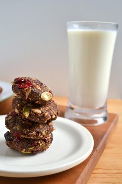 raw trail mix energy cookies: Energy Cookies, Things Food, Bakery Menu, Ahead Food, Raw Trail, Mix Energy, Food Joy