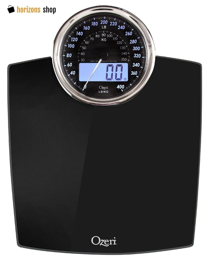 Digital Body Weight Scale Electronic LCD Dial Bathroom Health Fitness Fat 400lbs