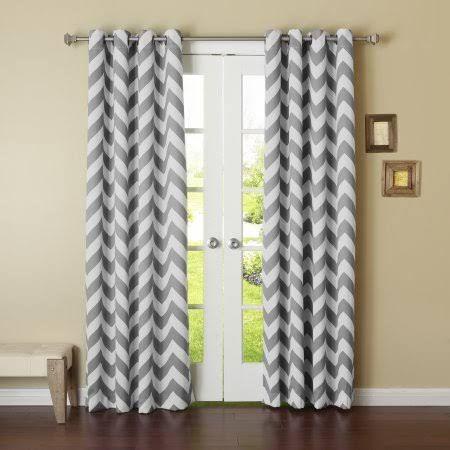 grey chevron curtains - Google Search