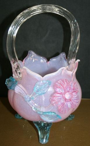 85 Best Glass Baskets Images On Pinterest Basket