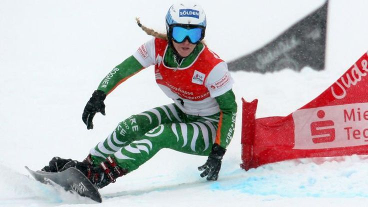 Amelie Kober Snowboarding