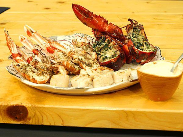 Så lyckas du med grillade skaldjur | Recept från Köket.se