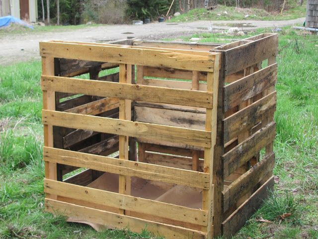 How to grow potatoes in pallets little mountain haven for What to grow in a pallet garden