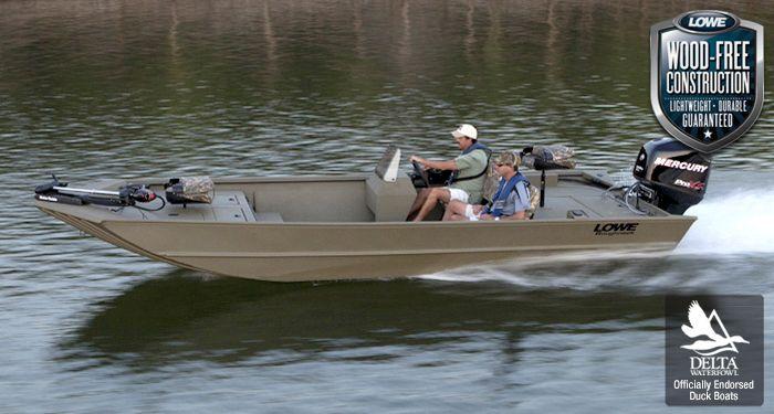 Lowe Boats Roughneck 2070CC Jon Boat | Aluminum Hunting Boat Dealers : 2015