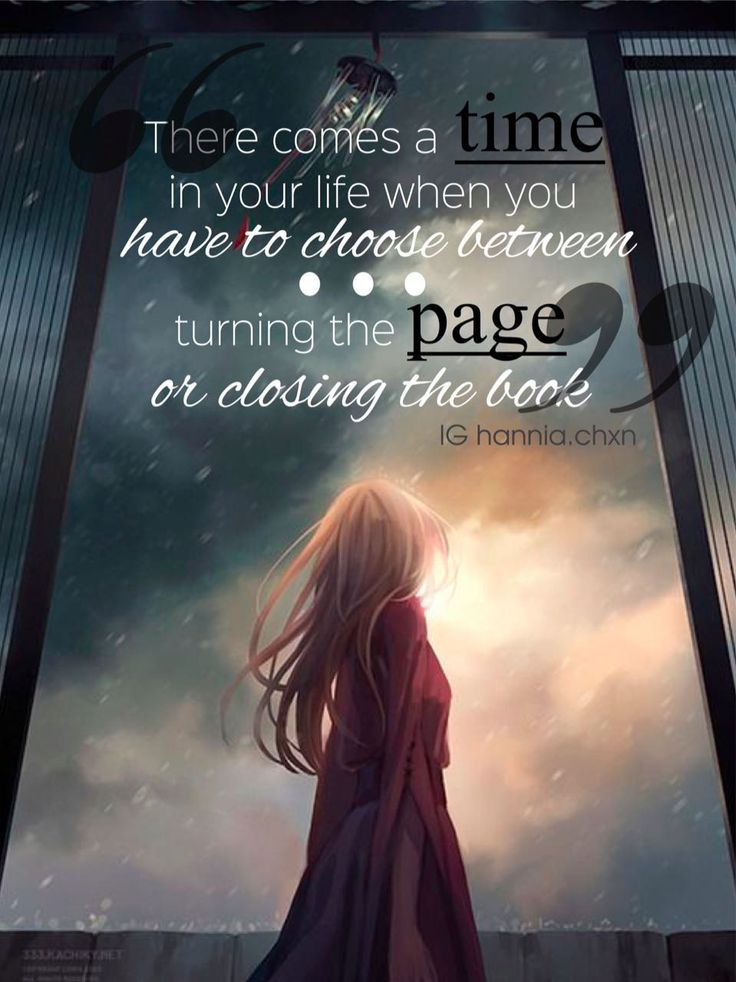 There come a time when you have choose