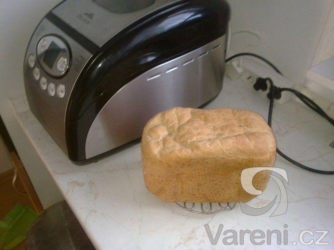 Recept na chléb z žitné mouky.