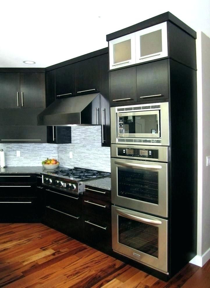 Image Result For Double Wall Oven With Microwave On Top