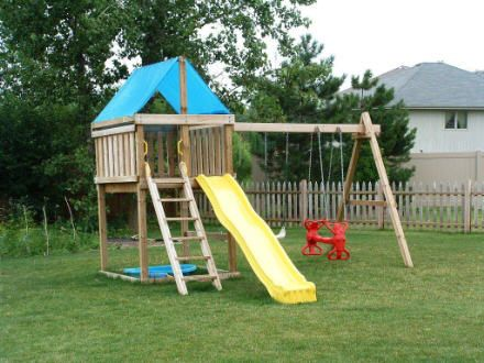 201 best Kid's Outdoor Playsets images on Pinterest | Cottage ... Plans Homemade Swing Set Design on homemade mailbox plans, homemade clubhouse plans, homemade playground set, homemade swinging doors, homemade tire swing plans, homemade car plans, homemade arbor plans, homemade storage plans, homemade kitchen plans, homemade tools plans, homemade motorcycle plans, homemade wooden beds, homemade playground plans, homemade wagon plans, homemade sandbox plans, wooden swing plans, homemade desk plans, homemade freezer plans, homemade shelf plans, homemade wooden swings,
