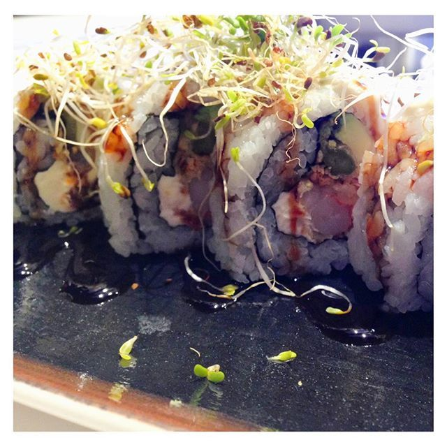 We've gotta admit, the One Roll is one of our favourites here at Nû! #burgushi #yycfood #yyceats #yycdrinks #yycfoodies #foodies #yyc #nomnom #yycfoodjunkie #burgers #sushi #instafood #goodeats #delicious #yyclunch  #datenightyyc #iamdowntown #cleaneating #food #foodporn #foodgasm #fusion #fitness #healthyliving #eatlocal #downtownyyc #organic