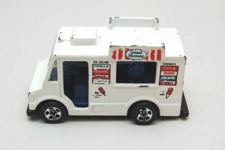 Original Hot Wheels Good Humor Ice Cream Truck 1983 Black Wall Tires, Mattel Inc, Hong Kong, Vintage Die-cast Toy Car Collection by RememberWhenToys on Etsy